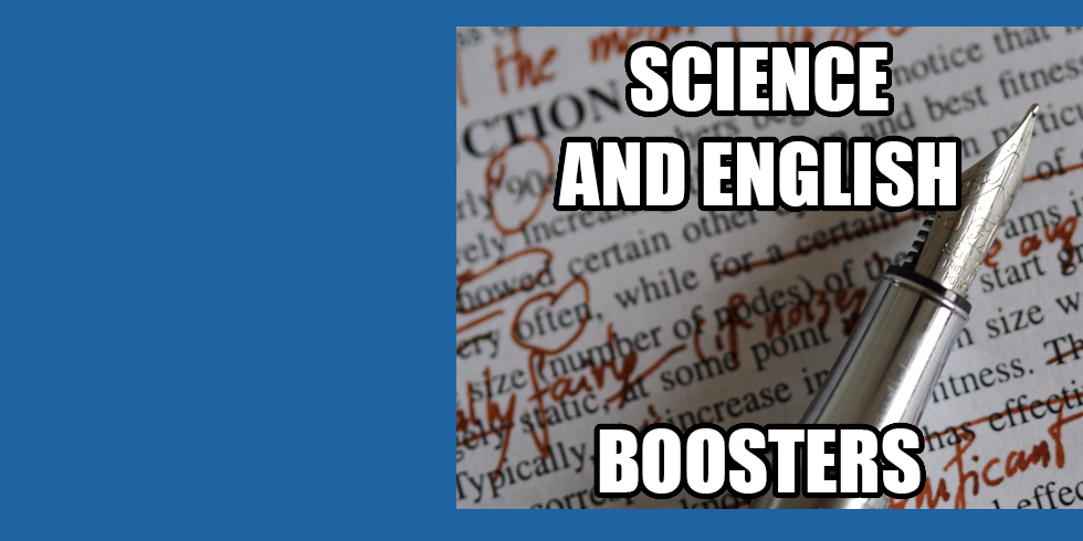 GCSE English and Science Boosters