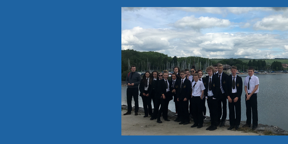 Year 9 Trip to Carsington Water and the National Stone Centre