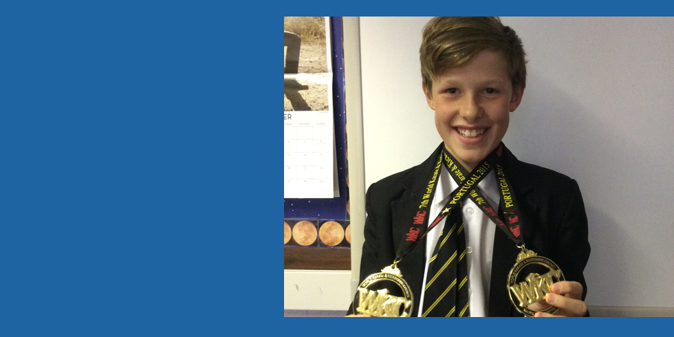 CCSC Pupil Holds Kickboxing World Record!