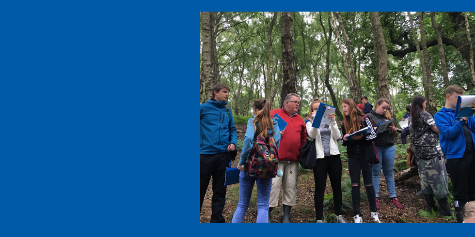 Year 9 River Study at Cannock Chase