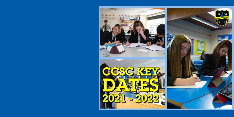 CCSC Key Dates 2021-22