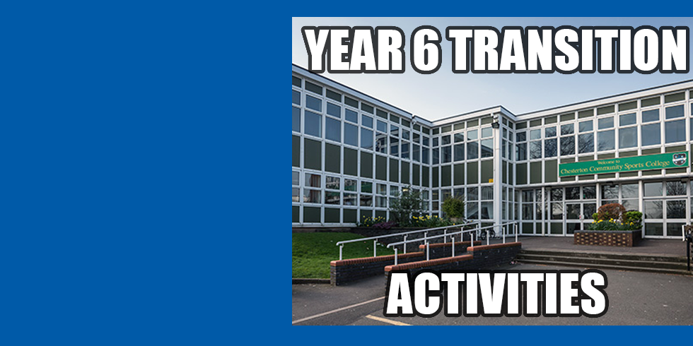Year 6 Transition Activities
